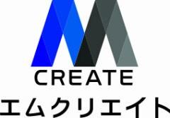 株式会社エムクリエイトのロゴ
