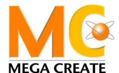 株式会社メガクリエイトのロゴ