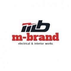 m-brandのロゴ