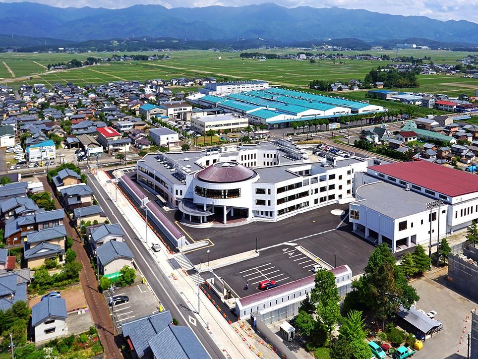 阿賀野市立水原中学校様の画像